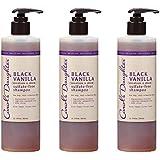 Carols Daughter Black Vanilla Sulfate-Free Shampoo, 3 Count