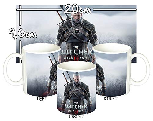MasTazas The Witcher 3 Wild Hunt Geralt of Rivia Taza Mug