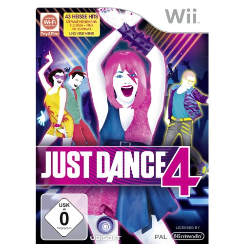 Just Dance 4 - [Nintendo Wii] (Wii Dance Just 2 Nintendo)
