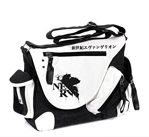 Siawasey anime giapponese Cosplay borsa Satchel zaino messenger bag borsa a tracolla nero One-Punch Man2 EVA