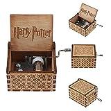 youtoo Retro Madera Parte reloj mano clásico Manivela Caja de música para regalos Talla:Harry...