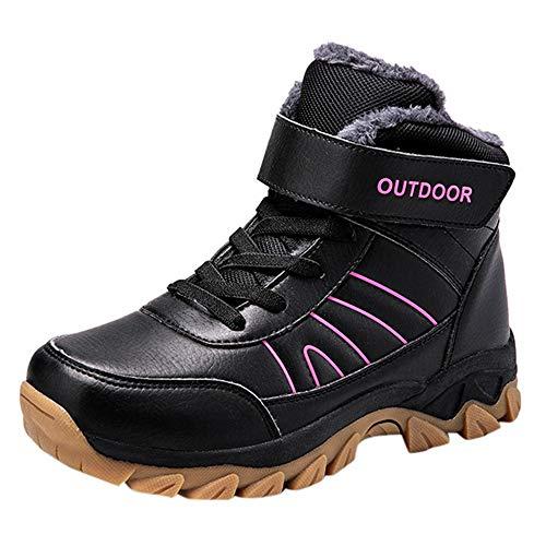 Clacce Winterschuhe Winterstiefel Schneestiefel Sneaker Outdoor Boots Schuhe Schneeschuhe Frauen Flache Schuhe Halten Warme Schneeschuhe Runde Kappe Bergschuhe