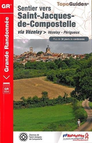 Sentier vers Saint-Jacques-de-Compostelle via Vézelay (Vézelay-Périgueux)