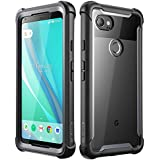 [Sponsored]i-Blason [Ares] Full-body Rugged Bumper Case Cover For Google Pixel 2 XL Built-in Screen Protector (Clear/Black)