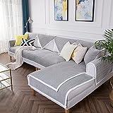 MD&ZZYG Sofa-cover-matten,Plüsch sofakissen Gewebekissen Antirutsch-vier jahreszeiten universal all-inclusive-handtuch Einfache moderne sofabezug Sofabezug arm-B 70x70cm(28x28inch)