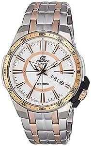 Casio Edifice Analog White Dial Men's Watch - EFR-106SG-7A5VUDF (EX270)