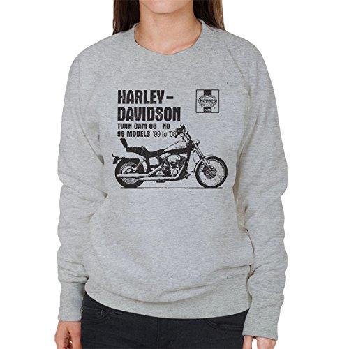 POD66 Haynes Owners Workshop Manual 2478 Harley Twin Cam 88 ND Women's Sweatshirt -