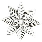 House Doctor - Christbaumschmuck, Baumschmuck - Stern Ornaments - Ouilling - Papier - Grey - W: 10 cm