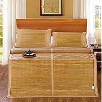 Preisvergleich für Coole Matratze Doppelseitige Matten Elegante Doppel-Bambusmatte Kann Gefaltet Werden Bambus-Rattan-Matte Klimatisierte Sitze (ohne Kissenbezüge) 1,8m Bett Coole Bambusmatte (größe : 1.5m Bed)