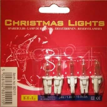 Ampoules de rechange 24 V/1,08 W