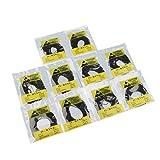 500pcs 0.8mm Anelli Guarnizione In Gomma DIY Orologiaio Riparazione Per Orologio