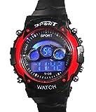 Hala Digital Black Dial Kids Watch A032