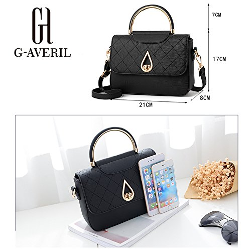 G-AVERIL, Borsa a zainetto donna Dark grey Black