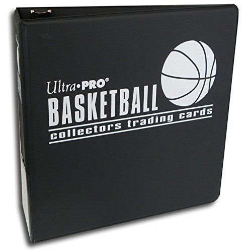 Ultra Pro 7,6cm schwarz Basketball Album