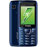 Ziox Thunder Hero Dual SIM Feature Phone (Black-Blue)