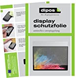 dipos I 2X Schutzfolie matt passend für Microsoft Surface Book 2 13.5 Zoll Folie Displayschutzfolie