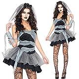 MAIMOMO Baby Dolls & Negligees Für Damenvampir Kostüm Europa Und Amerika Damen Spiel Uniform Halloween Dämon Zombie Geist Braut Rolle Spielen, Bild Farbe, L