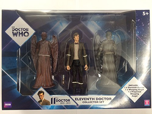 Dr Who Doctor Who 11th Doctor with Weeping Angel & Projected Weeping Angel