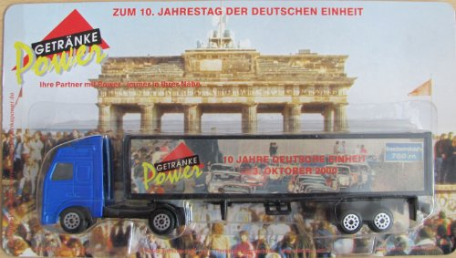 Getränke Power Nr.02 - 10. Jahre deutsche Einheit - Volvo - Sattelzug - Getränke-einheit