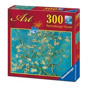 Ravensburger 14029 - Van Gogh Mandorlo in Fiore - Puzzle 300 pezzi Art Collection