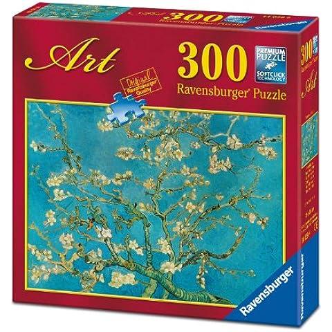 Ravensburger - Arte: Van Gogh, Almendros en flor, puzzle de 300 piezas (14029 9)