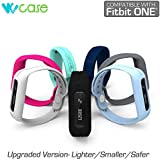 WoCase OneBand Fitbit One Accessory Wristband Bracelet Collection (2016 Lastest Version, Secured, Lost Proof) for Fitbit One Activity and Sleep Tracker (Turn Your Fitbit One into Wearable FLEX/FORCE/CHARGE, Gift Ready Retail Package)