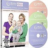 MamaWORKOUT - Rückbildung & Fitness nach der Geburt - 3-DVD-Box zum Sparpreis ++ 1. Rückbildungsgymnastik ++ 2. Rückbildungsgymnastik mit Baby ++ 3. ... für Mütter ++ von Expertin Verena Wiechers