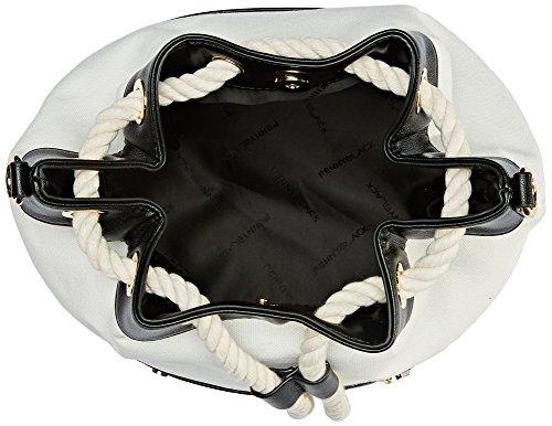 Pennyblack Damen Scriba Umhängetaschen, 32x28x18 Cm Nero (nero)