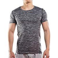 ELAINE Funcionamiento de Secado Rápido Tejido de Absorción de Sudor Absorbente Camiseta