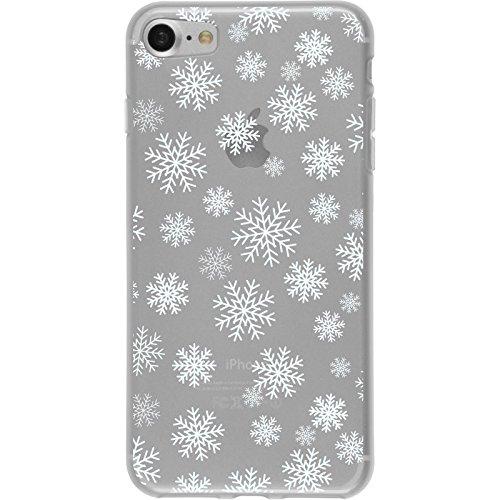 PhoneNatic Case für Apple iPhone 8 Silikon-Hülle X Mas Weihnachten M1 Case iPhone 8 Tasche + 2 Schutzfolien Design:02
