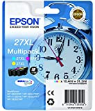 Epson T2715 Tintenpatrone Wecker XL, Multipack 3-farbig