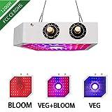 DYHA Lampe Horticole Croissance 1200W Lampe pour Plantes Interieures avec UV Et IR Lumière Spectre Complet éclairage pour Plante pour Intérieur Serre Grow
