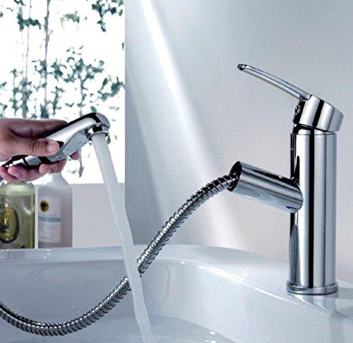 MASSIV MESSING FÜR BAD Wasserhahn Waschtisch Armatur Bad Chrom Einhandmischer