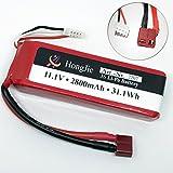 Hongjie VINCORP  FT012 11,1v 3S 2800mAh 30C Tuning Akku Batterie Battery Li-po Lipo RC Boot Boat T-Plug T- Stecker Feilun