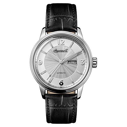 Ingersoll Herren Analog Automatik Uhr mit Leder Armband I00202