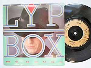 "Lypbox My House 7"" IRS IRM157 EX/EX 1988 picture sleeve"