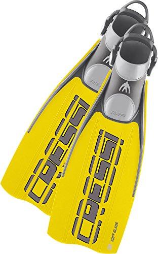 Cressi Flossen Ara Fins, Yellow, L/XL, BE131044