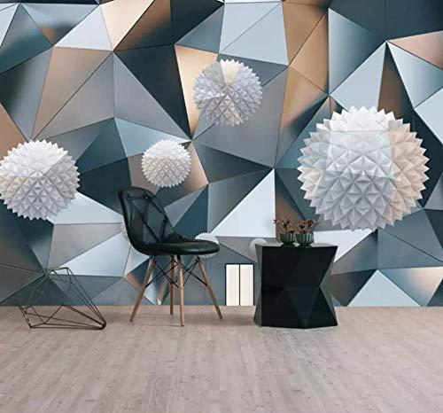 3D Hintergrund Wallpaper 3D Fototapete Schwimmende Kugel Geometrisches Muster Grafik Hintergrund Tapeten Wohnkultur 3D Wallpaper @ 430 * 300