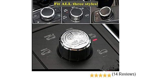 Autocollant 3D pour Benz AMG en m/étal argent/é avec logo de l/'arbre