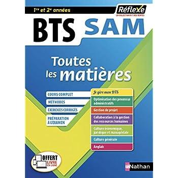BTS SAM - Support à l'action managériale - Toutes les matières - 1ère et 2ème année (09)