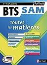 BTS SAM - Support à l'action managériale - Toutes les matières - 1ère et 2ème année par Bonnet-Piron