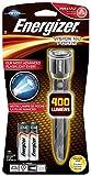 Energizer Taschenlampe Vision HD Metal LED 2AA (inkl. Batterien, 400 Lumen)