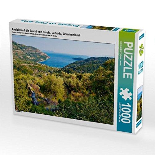Preisvergleich Produktbild Ansicht auf die Bucht von Sivola, Lefkada, Griechenland. 1000 Teile Puzzle quer (CALVENDO Orte)