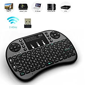 Wireless Keyboard With Touchpad, For Smart TV, Android TV Boxs, Android Tablets, Android Smartphones.