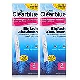 Clearblue Easy Schwangerschafts-Frühtest, 2 Tests