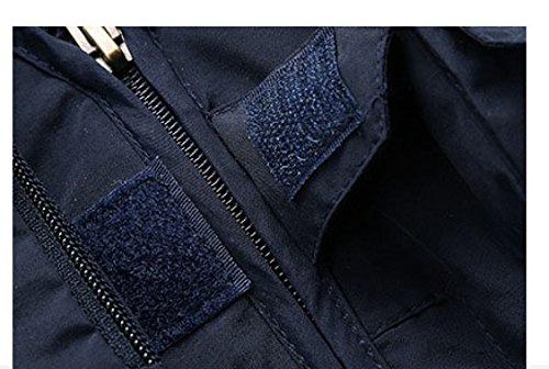 YanLL Casual Vest Young Man Primavera E Autunno Sezione Sottile Multi-tasca Solido Colore Sleeveless Outdoor Quick-drying Gilet MilitaryColor