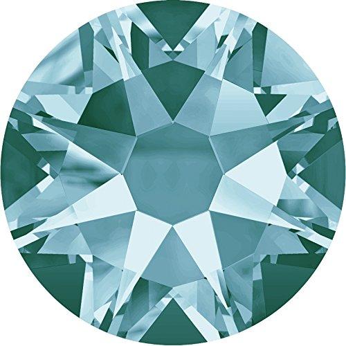 Swarovski Strasssteine Elements Schmuckstein Flat Backs No Hotfix 2088 SS30 - Light Turquoise F (263) - Ballkleid Light