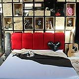YIWANGO Nachtkissen Weiche Tasche Schlafsofa Rückenlehne/Doppelseitige Verwendung/Abnehmbare Wäsche/Multi-Size Optional,E-180 * 60cm