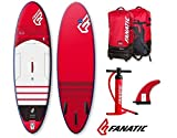 Fanatic Fly Air Premium hinchable SUP 2016 9.8 Windsurf soporte para remo tabla