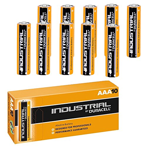 Duracell 10x New Genuine Procell Industrial Aaa Alkaline Batteries Lr04 Battery Replacement Pack Of 10